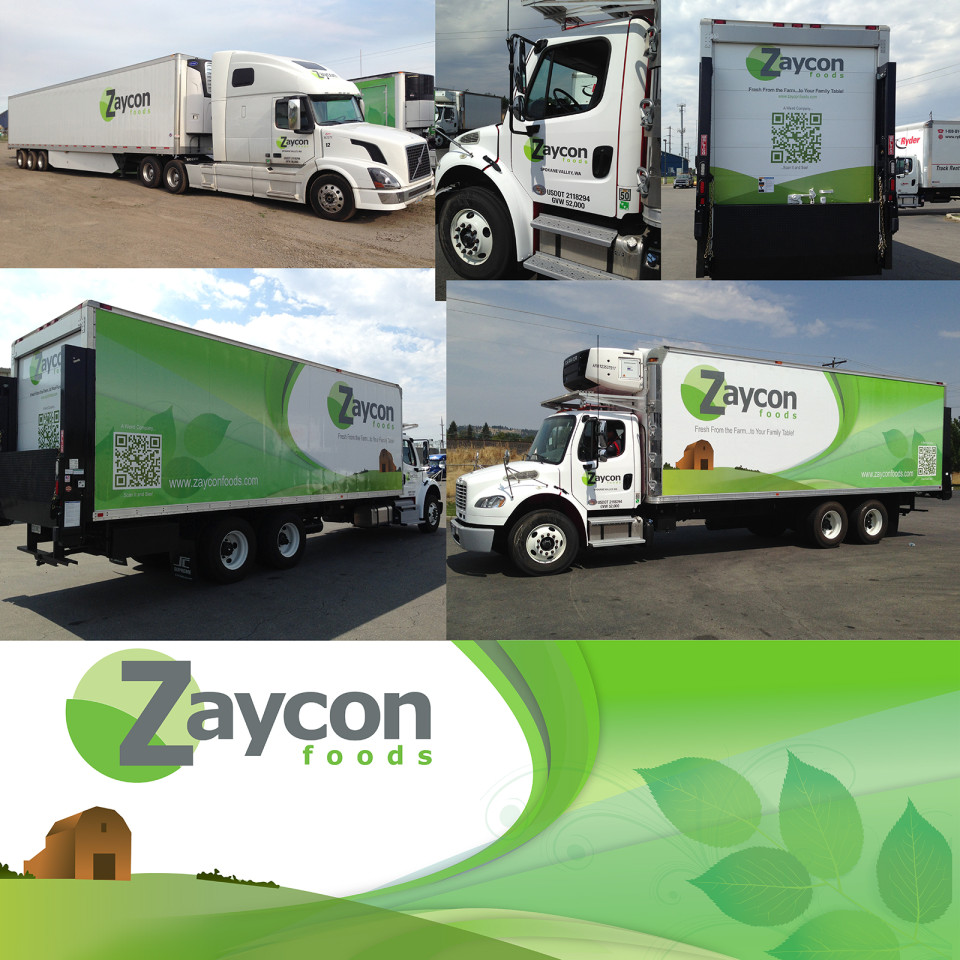 Designer Decal Fleet Graphics | Zaycon Foods