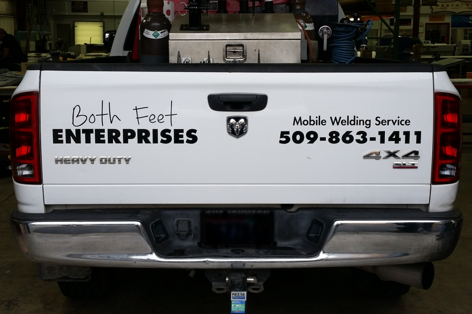 Designer Decal Cut Vinyl Graphics - Both Feet Enterprises