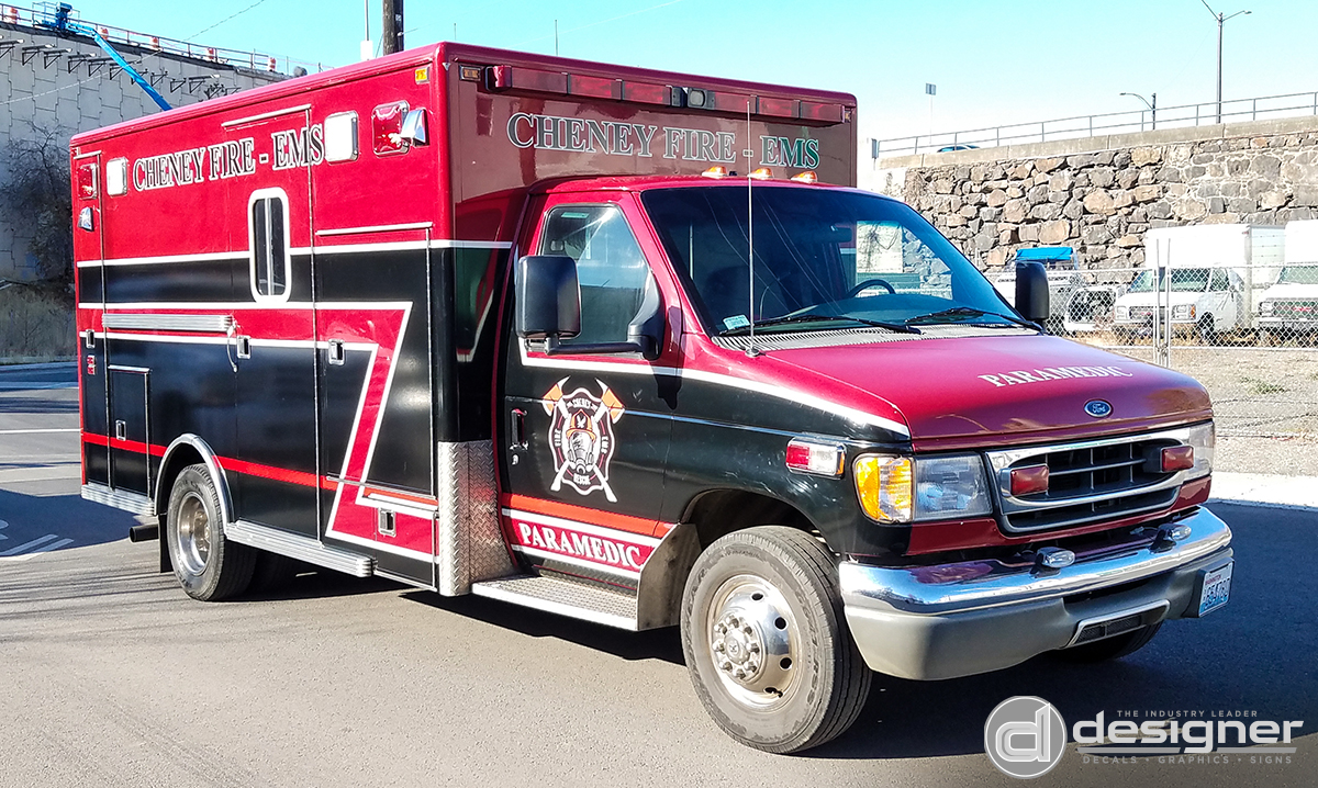 Designer Decal | Emergency Vehicle Graphics